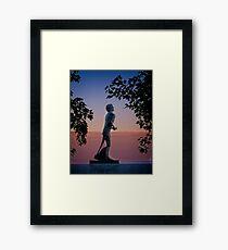Terry Fox Memorial Framed Print