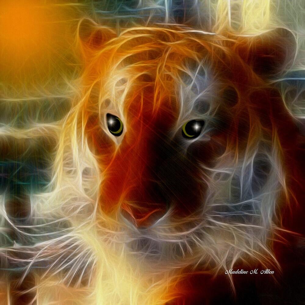 SIBERIAN TIGER by Madeline M  Allen