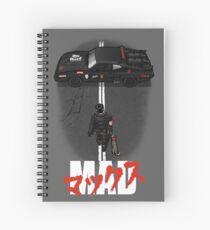 The Mad Warrior Spiral Notebook