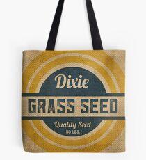 Vintage Burlap Dixie Grass Seed Sack Tote Bag