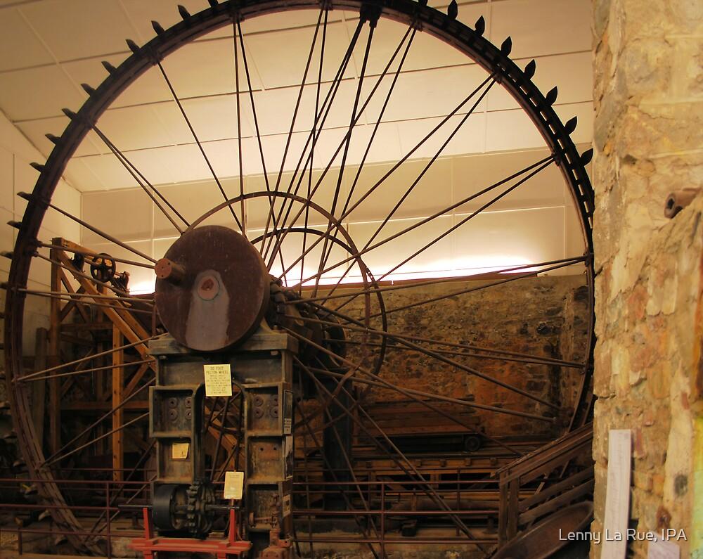 World's largest Pelton Wheel: 30 feet by Lenny La Rue, IPA