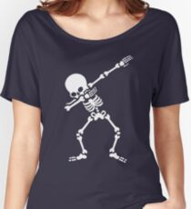 Dabbing Skeleton  Women's Relaxed Fit T-Shirt