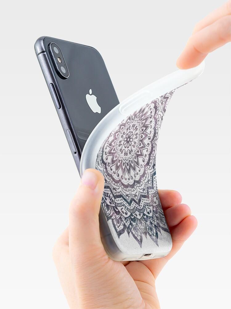 Alternate view of JEWEL MANDALA iPhone Case & Cover