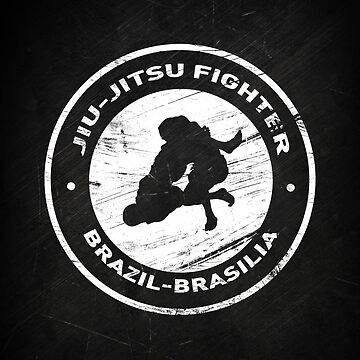 Jiu Jitsu Fighter by Nattouf