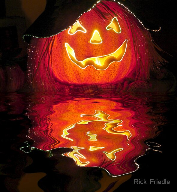 BOO! by Rick  Friedle