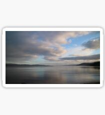 Ardrishaig, Argyll - calm seas Sticker