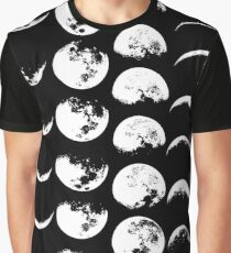 Moon Phases No. 2 Graphic T-Shirt