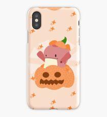 Inside a pumpkin - Halloween iPhone Case/Skin