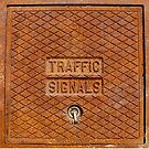 Traffic Signals in Rust by Valerie  Fuqua