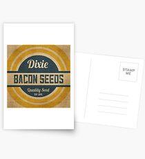 Bacon Seed Vintage Burlap Sack Postcards