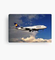 Lufthansa Boeing 747-430 Canvas Print