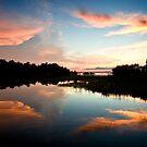 Sunset on Georgian Bay, Ontario. by Paul Bailey