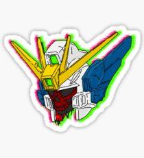 Gundam Wing Skull Head Sticker