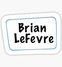 Brian LeFevre Sunny Design Sticker