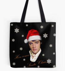 Elvis Presley - Christmas Tote Bag