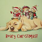 Beary Christmas by Sarah  Mac Illustration