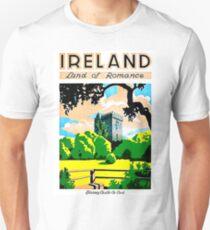Ireland, land of romance, Blarney Castle and gardens Unisex T-Shirt