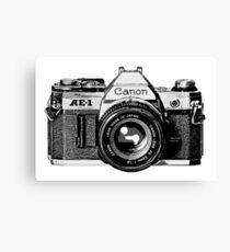 canon ae 1 Canvas Print