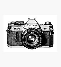 canon ae 1 Photographic Print