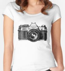 canon ae 1 Women's Fitted Scoop T-Shirt