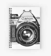 canon ae 1 Spiral Notebook