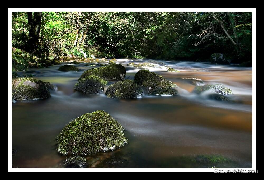 """Ingleton falls """"ice"""" river by Shaun Whiteman"""