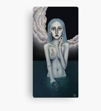 Night Swim Canvas Print