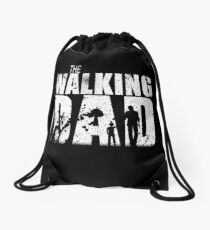 The Walking Dad Cool TV Shower Fans Design Drawstring Bag