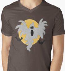 Halloween Ghost Men's V-Neck T-Shirt