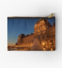 Illuminated Louvre Studio Pouch