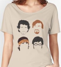 Flight of the Conchords Silly-ettes: 4-up Women's Relaxed Fit T-Shirt