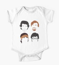 Flight of the Conchords Silly-ettes: 4-up One Piece - Short Sleeve