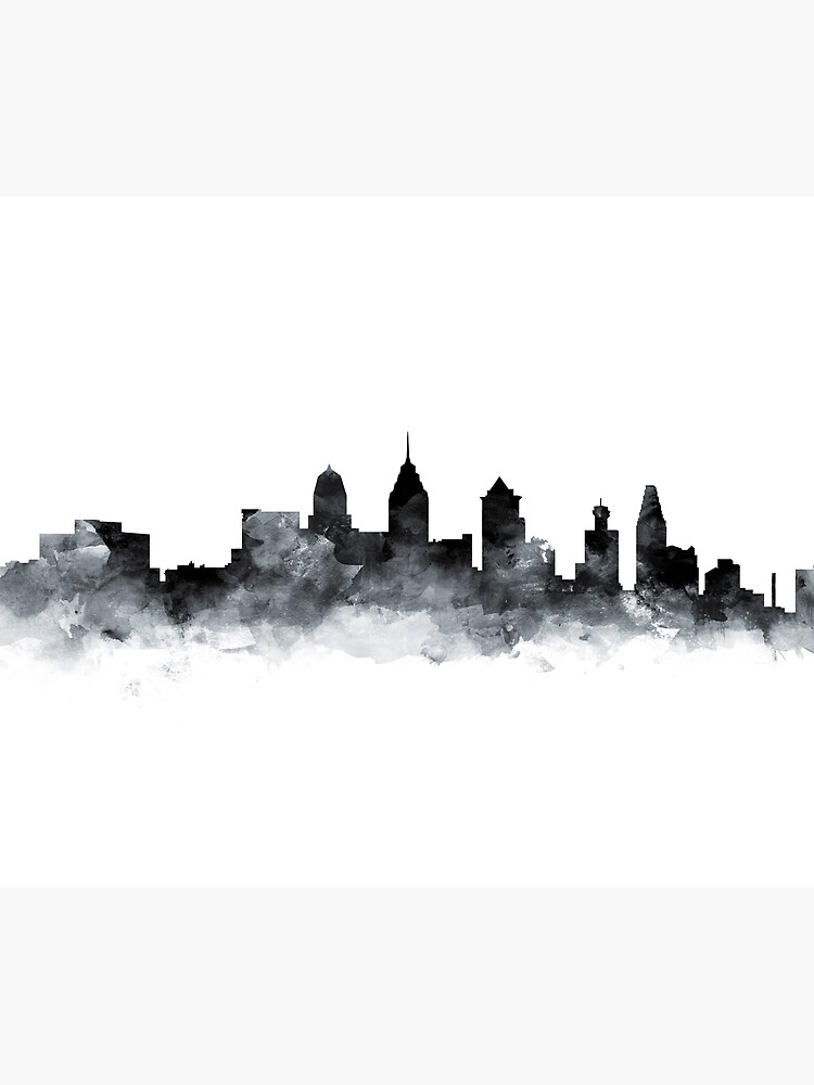 Philadelphia Skyline by MonnPrint