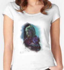 "Blanche Dubois n°5 ""Green light"" Women's Fitted Scoop T-Shirt"