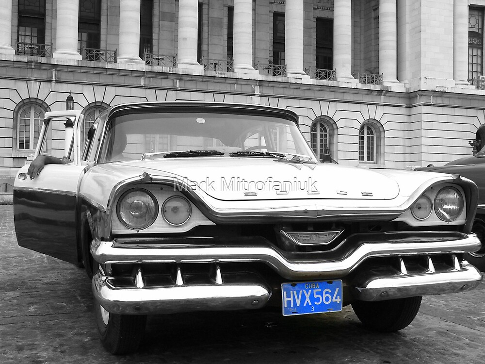 Cuban American car by Mark Mitrofaniuk