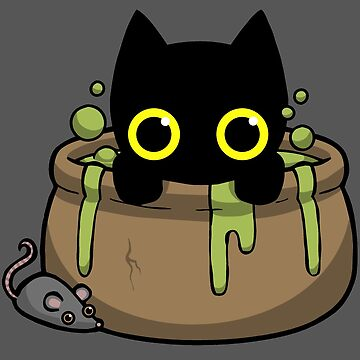 Halloween Cat Potion by WildSally