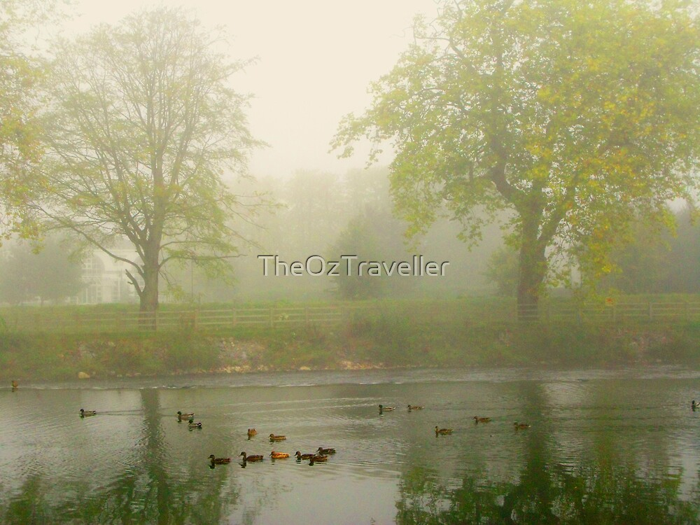 Foggy days ahead by TheOzTraveller