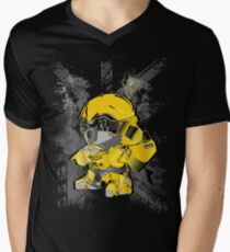 BUMBLEBEE TRANSFORMER Men's V-Neck T-Shirt