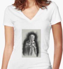 Blanche Dubois n°1 Women's Fitted V-Neck T-Shirt
