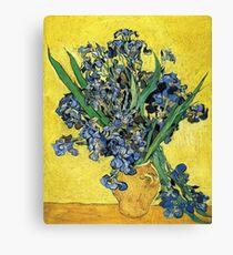 Vintage Vincent Van Gogh Vase Flowers 1890 Fine Art Canvas Print