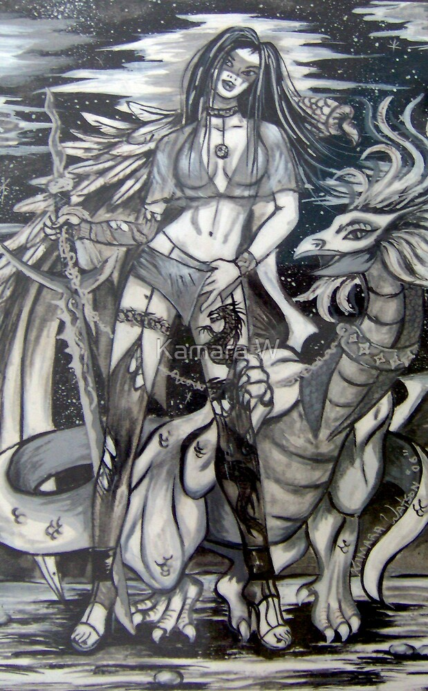 Kamara's baby dragon by marak