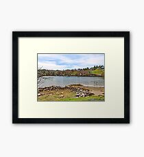 NOVA SCOTIA Framed Print