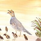 Quails by Charisse Colbert