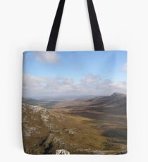 View from Errigal Mountain Donegal Ireland Tote Bag