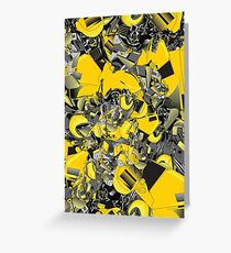 Bumblebee  transformer Greeting Card