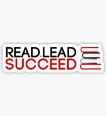 Read. Lead. Succeed! Sticker