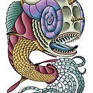 Armour Headed Dragon Fish by SCARstudios