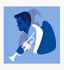 Chet Baker Born to be Blue Photographic Print