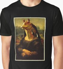 Jar Jar Binks - Mona Binks : Inspired by Star Wars Graphic T-Shirt