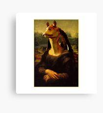 Jar Jar Binks - Mona Binks : Inspired by Star Wars Canvas Print